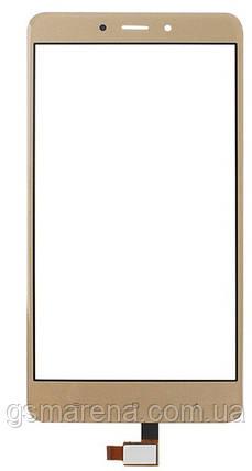 Тачскрин (сенсор) для Xiaomi Redmi Note 4 Золотой, фото 2