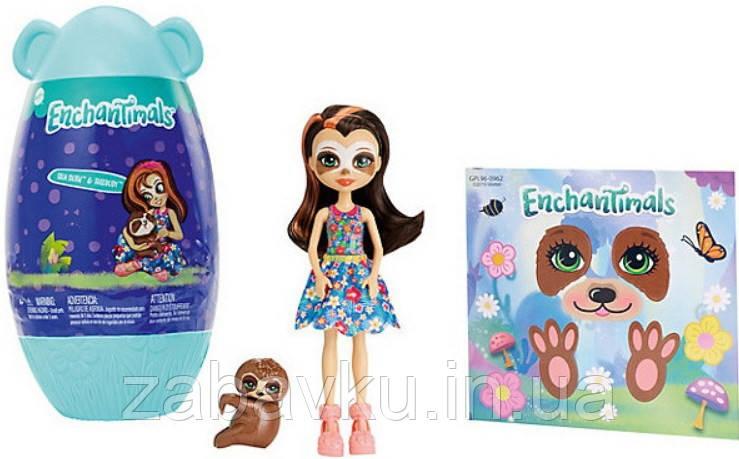 Enchantimals Sela Sloth Doll Кукла энчантималс Ленивец Села с домиком