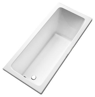 MODO ванна 170*75см прямоугольная, боковой слив, с ножками SN7