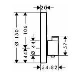 SHOWER Select S термостат на 2 потребителя, СМ, фото 2