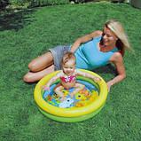 Надувной детский бассейн 122см х 25см, фото 3