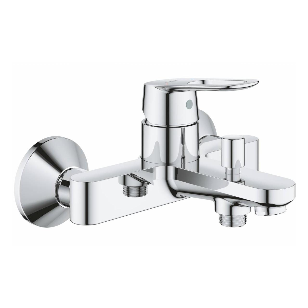 BAULOOP смеситель для ванны, настенный монтаж