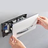 GEBERIT система очистки воздуха DuoFresh с ручным срабат-ем и контейнером для картриджа DuoFresh, для смыв. бачка скрыт. монтажа Sigma 12, хром, фото 2
