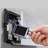 GEBERIT система очистки воздуха DuoFresh с ручным срабат-ем и контейнером для картриджа DuoFresh, для смыв. бачка скрыт. монтажа Sigma 12, хром, фото 3