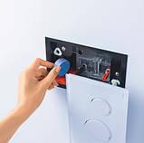 GEBERIT система очистки воздуха DuoFresh с ручным срабат-ем и контейнером для картриджа DuoFresh, для смыв. бачка скрыт. монтажа Sigma 12, хром, фото 4