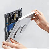 GEBERIT система очистки воздуха DuoFresh с ручным срабат-ем и контейнером для картриджа DuoFresh, для смыв. бачка скрыт. монтажа Sigma 12, хром, фото 5