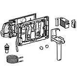 GEBERIT система очистки воздуха DuoFresh с ручным срабат-ем и контейнером для картриджа DuoFresh, для смыв. бачка скрыт. монтажа Sigma 12, хром, фото 6