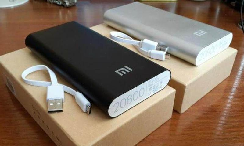 Павербанк PowerBank Xiaomi MI 20800 mAh