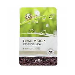 Тканевая Маска для Лица Scinic Snail Matrix Essence Mask, с улиточным муцином