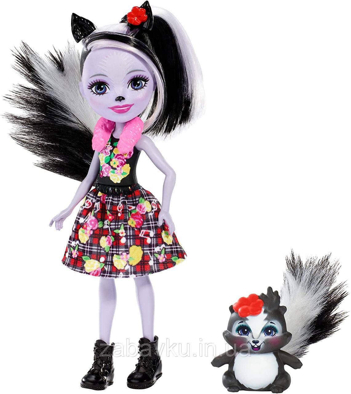 Enchantimals Sage Skunk Doll Кукла энчантималс Сейдж Скунс