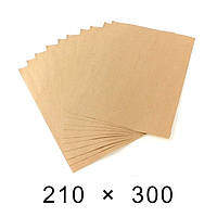 Пакувальний папір в аркушах 90 грам - 210 мм × 300 мм / 1000 шт