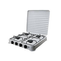 Газовая плита настольная D&T Smart DT-6004 на 4 конфорки White (1_0133)