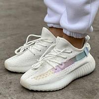 Женские кроссовки Adidas Yeezy Boost 350 V2 White 1в1 как Оригинал! ТОП (ААА+)