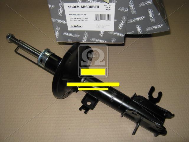 Амортизатор подв. Chevrolet Aveo 02- передн.прав.газ (RIDER)