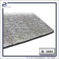 Шумоизоляция 8 мм, лист 500х500мм. Вспененный ППЭ | Фольгированный