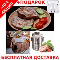 Ветчинница Форма для приготовления ветчины, колбасы Redmond RHP-M02