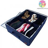 Органайзер-коробка для обуви на 6 пар (джинс)