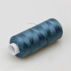 Нитки швейные 40/2 Kiwi 400 ярдов тон 312 серо-синий