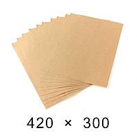 Пакувальний папір в аркушах 90 грам - 420 мм × 300 мм / 1000 шт