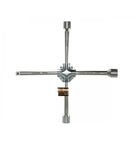 "ТМ""POLAX"" Ключ балонный крестовой усиленный 350mm d16mm, 17х19х21 mm, 1/2"""" / 20 (шт.)"