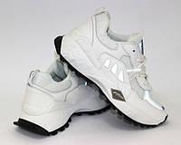 Белые кроссовки на толстой подошве, фото 1