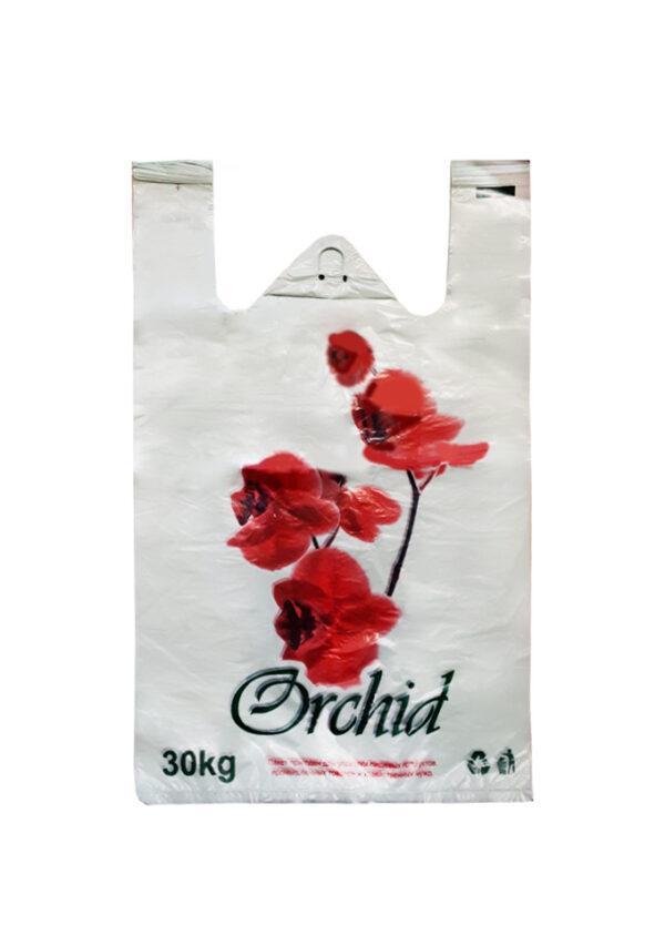 """Полиэтиленовые пакеты """"роза"""" средние-большие (30 кг/ 32*50) 50шт."""