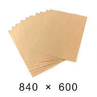 Упаковочная бумага в листах 90 грамм - 840 мм × 600 мм / 100 шт