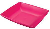 Тарелка пластиковая полупорционная Ucsan 18 см