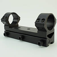 Посилений кронштейн КМ-02 моноблок 25.4 мм на ластівчин хвіст