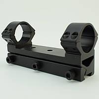 Усиленный кронштейн КМ-02 моноблок 25.4 мм на ласточкин хвост