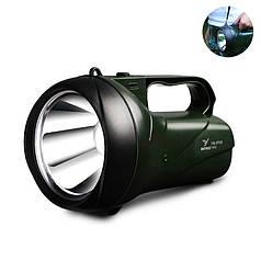 Ручной фонарь-прожектор YAGE YG-5710 Black + Green 3000 мАч защита IP52 мощность 5Вт светодиодный