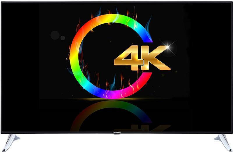 Телевизор Telefunken L65U249N4CW ( Ultra HD / 4K / 1500Hz / Android / Smart TV / DVB-T/T2/S/S2/C)