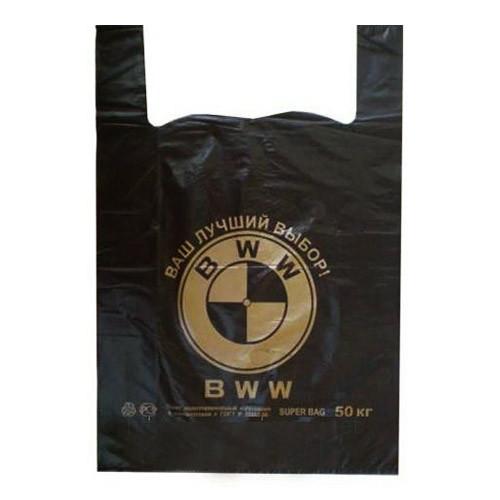 Полиэтиленовый пакет BMW (50кг) 1шт.
