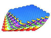 Коврик пазл. Мягкий тёплый пол Татами ''EVA'' 10х520х520 мм.