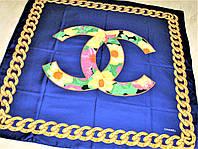 Платок C.C тяжёлый шёлк 100%, фото 1