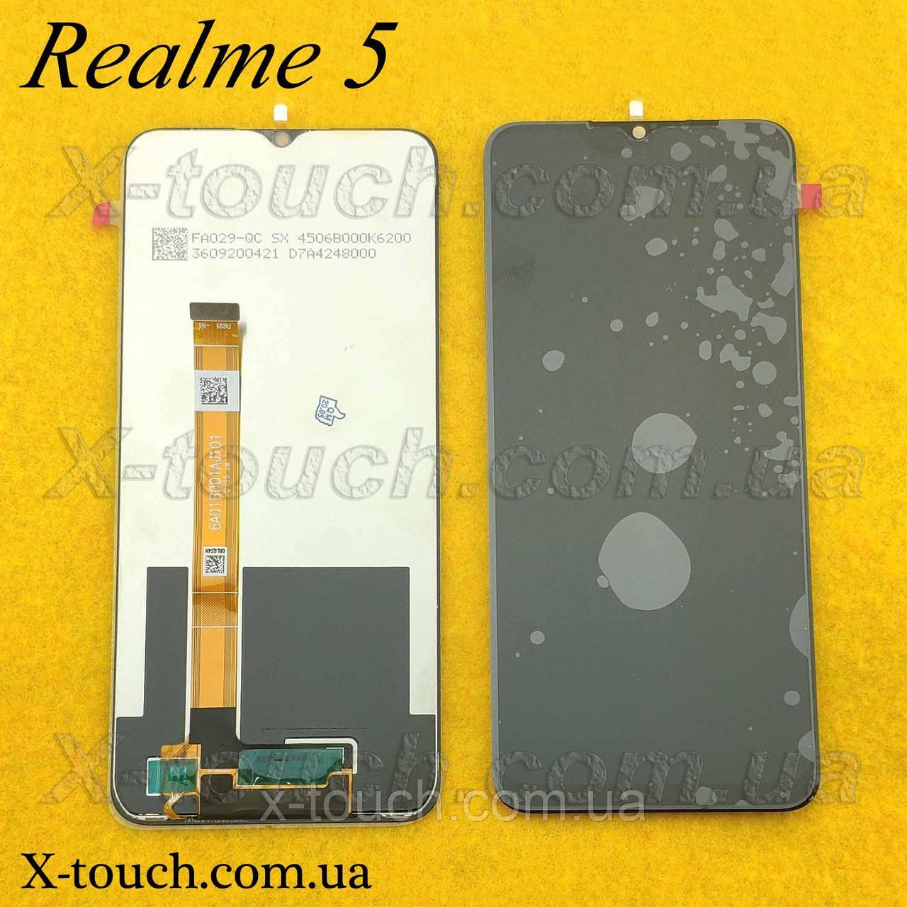 LCD для Realme 5 дисплейный модуль (дисплей + сенсор)