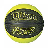 Мяч баскетбольный Wilson HYPER SHOT BBALL BK/LI 7 (WTB0967XB)
