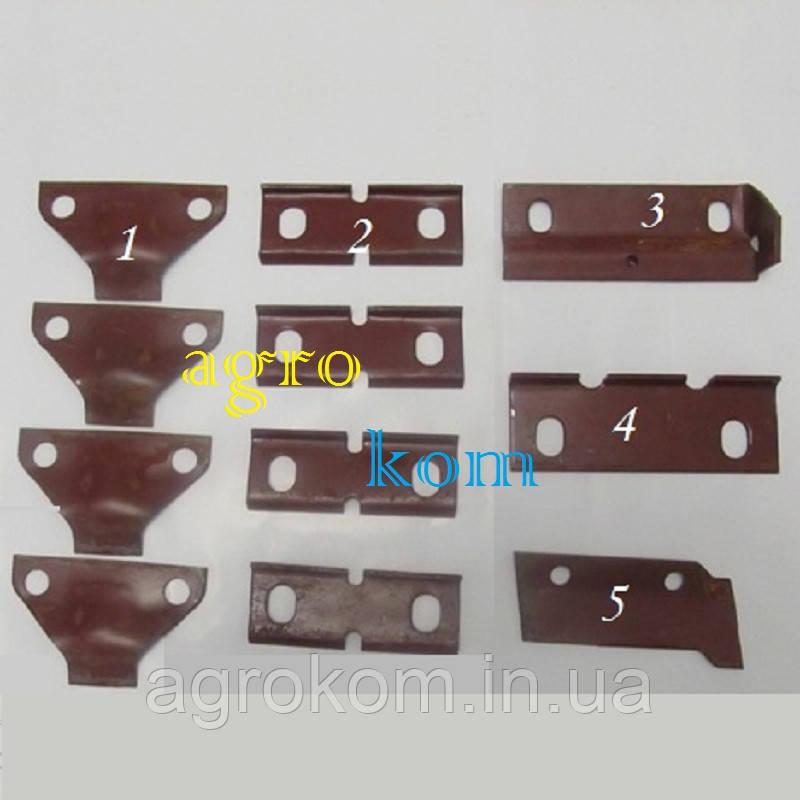 Комплект пластин503005000 косилки сегментно-пальцевой К-1,4 (11шт.)