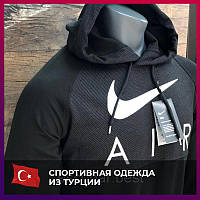 Мужской спортивный костюм Nike серый. Чоловічий спортивний костюм Nike сірий.