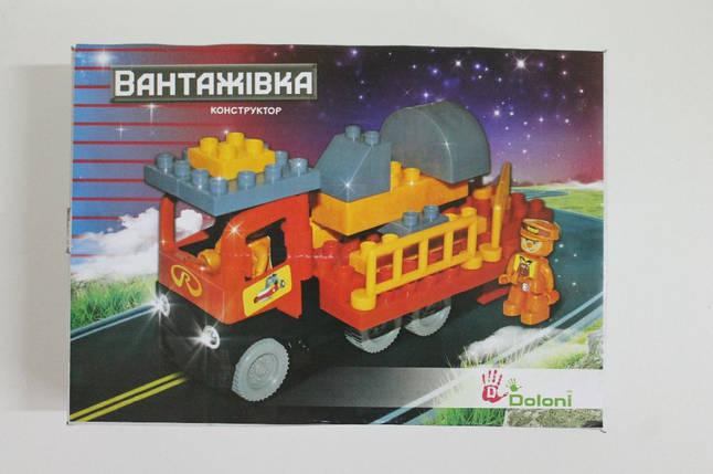Міні конструктор Flamingo Вантажівка, 35 деталей, 013888/16, фото 2