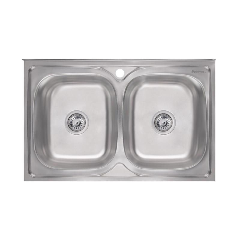 Кухонная мойка Imperial 5080 Satin (IMP5080SATD)