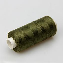 Нитки швейные 40/2 Kiwi 400 ярдов тон 423 хаки