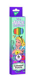 """Карандаши цветные YES 6 цв. """"Alice"""""""