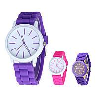 Стильные наручные женские часы Geneva / Кварцевые часы
