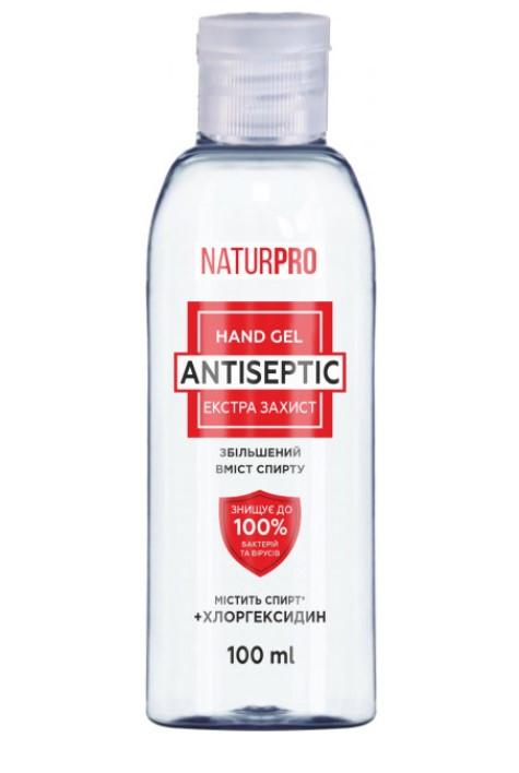 Антисептический гель для рук NaturPro Экстра защита 100 мл