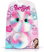 Интерактивная игрушка кошечка  Помсис  Полосатик Pomsies Peppermint оригинал SkyRocket, фото 1