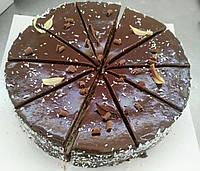 """Торт бісквітний """"Кокосово-шоколадний """" (порційний)"""