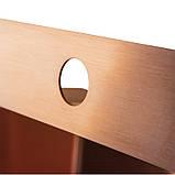 Кухонна мийка Imperial Handmade D5050BR 2.7/1.0 мм (IMPD5050BRPVDH12), фото 5