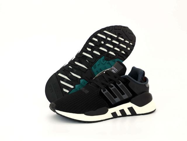 Мужские кроссовки Adidas EQT ADV Black White фото