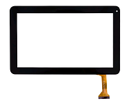 Тачскрин (сенсор) для Assistant AP110, Impression Impad 1004 (FPC-033-V3.0) (257x160) 50pin Черный